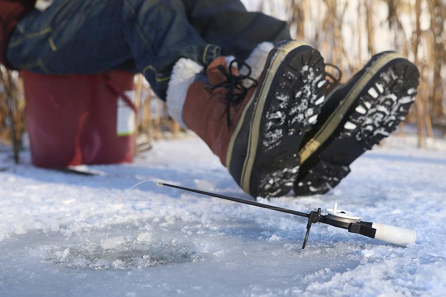 Grand Solmar Timeshare Enjoy Ice Fishing In Minnesota